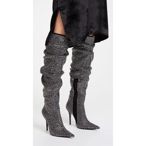 Jeffrey Campbell Cry4U Over the Knee Slouch Boot